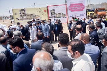آئین کلنگ زنی مجموعه مذهبی ، فرهنگی و تاریخی امازاده سید عباس موسی بن جعفر ( ع) در بجنورد