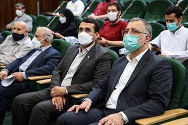 نشست علیرضا زاکانی با اساتید و دانشجویان در دانشگاه امیرکبیر