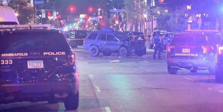 حمله به معترضان آمریکایی با خودرو در مینیاپولیس؛ یک نفر کشته شد