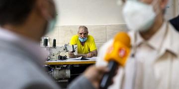 بازدید سعید جلیلی از کارگاه معلولان