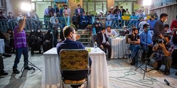 دیدار امیرحسین قاضیزاده هاشمی     با فعالان فضای مجازی