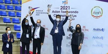 قهرمانی پومسه آسیا| ایران بر سکوی نایب قهرمانی آسیا ایستاد/ نظری بهترین مربی شد