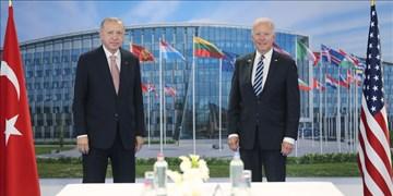 دیدار اردوغان و بایدن در حاشیه نشست ناتو