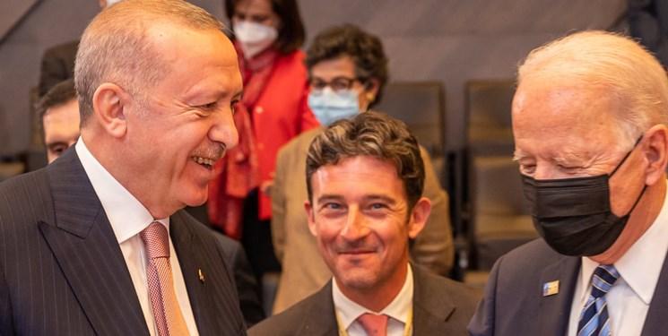 اردوغان: در دیدار با بایدن بر مواضع ترکیه درباره «اف-۳۵» و «اس-۴۰۰» تاکید کردم