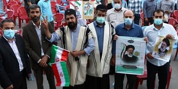 فیلم  گردهمایی حامیان آیت الله رئیسی در شهرکرد با حضور سعید محمد