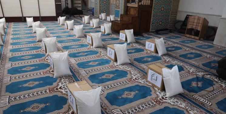 190 بسته معیشتی مسجدیها برای نیازمندان 2 شهر