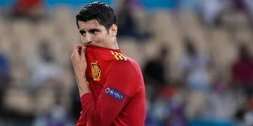 یورو 2020|فیلم/ادامه بدشانسی های اسپانیا؛ موراتا پنالتی هدر داد