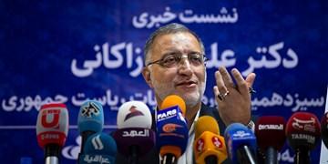 نشست خبری علیرضا زاکانی     در خبرگزاری فارس