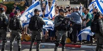 تدابیر امنیتی تل آویو در قدس برای حمایت از «راهپیمایی پرچم»