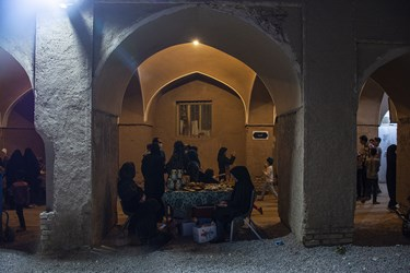 احیای بازارچه قدیمی در شهرستان میبد با همت مردم