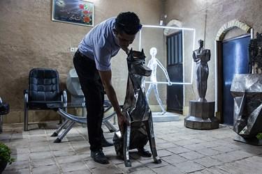 کارگاه مجسمه سازی