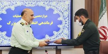 پلیس شجاع مانع سرقت از طلافروشی شد/ تقدیر فرمانده از مأمور+عکس