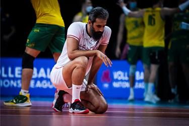 گزارش تصویری از شکست عجیب والیبال ایران مقابل استرالیا