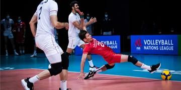 لیگ ملتهای والیبال| نتایج کامل روز دوازدهم/ رتبه ایران دو رقمی شد + جدول