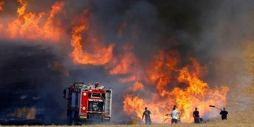 انفجار بالن آتشزا در نزدیکی شهرک صهیونیستی اطراف غزه