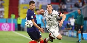 گزارش تصویری پیروزی فرانسه مقابل آلمان