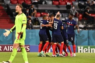 گزارش تصویری پیروز فرانسه مقابل آلمان