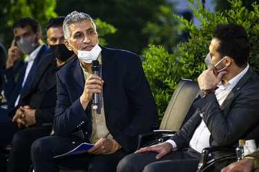 صحبت های  مصطفی کارخانه پیشکسون والیبال در دیدار آیتالله سید ابراهیم رئیسی با ورزشکاران