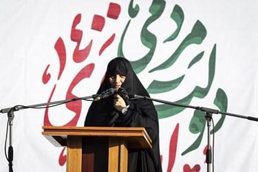 سخنرانی دکتر علمالهدی در دیدار آیتالله سید ابراهیم رئیسی با فرهنگیان