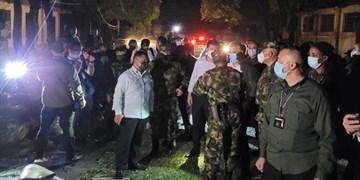 انفجار در پادگان کلمبیا در نزدیکی مرز ونزوئلا، ۳۶ زخمی بر جا گذاشت