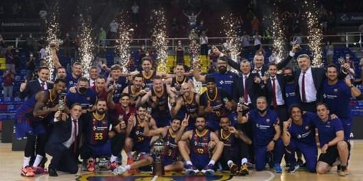 بارسلونا با شکست رئال قهرمان اسپانیا شد+عکس