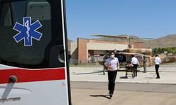 خدمات اورژانس هوایی به بیماران نیازمند