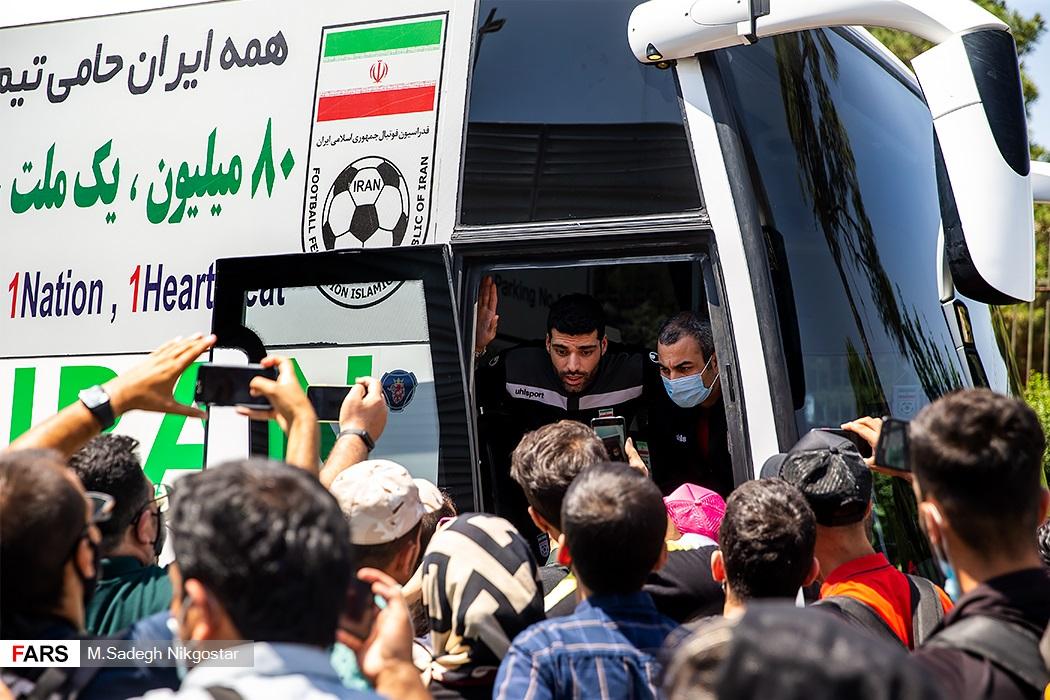 گفتوگوی مهدی طارمی با هواداران تیم ملی فوتبال ایران