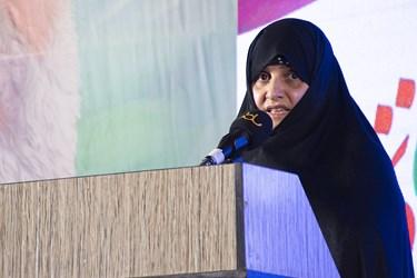 سرکار خانم علم الهدی همسر محترم ایت الله رئیسی