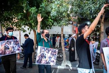 راهپیمایی حامیان سعید جلیلی از میدان منیریه تا میدان راه آهن