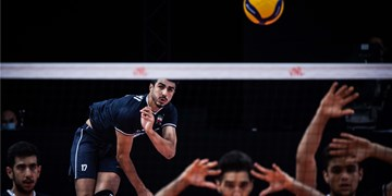 لیگ ملتهای والیبال| امتیازآورترین بازیکن دیدار ایران و برزیل مشخص شد