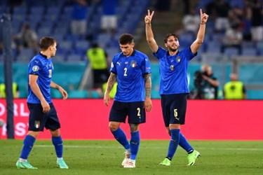 گزارش تصویری از پیروزی قاطع ایتالیا مقابل سوئیس