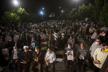 تجمع هواداران آیتالله رئیسی در پارک ملّت اراک