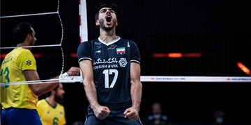 گزارش تصویری از دیدار والیبال ایران مقابل برزیل