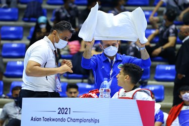 گزارش تصویری رقابتهای تکواندو قهرمانی آسیا در بیروت