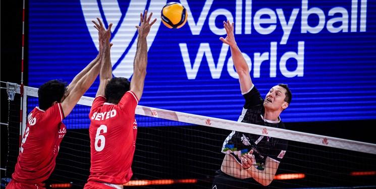 لیگ ملتهای والیبال  چرا ایران به اسلوونی باخت؟