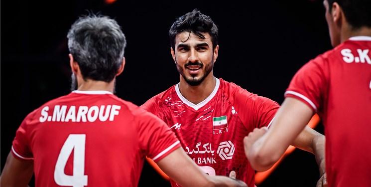 لیگ ملتهای والیبال  کدام بازیکن ایران بیشترین امتیاز را از اسلوونی کسب کرد؟