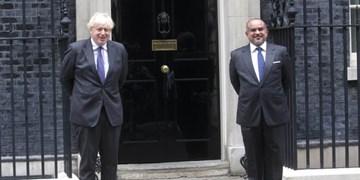 اعتراض حقوق بشری به دیدار بیسروصدای جانسون با ولیعهد بحرین