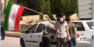فیلم  تلاش نوجوانان بسیجی شهرکرد برای ایجاد شور سیاسی