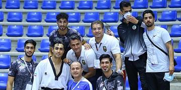 گزارش تصویری مسابقات تکواندو قهرمانی آسیا در بیروت