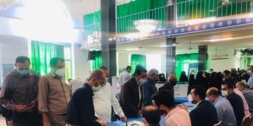 ازدحام شکوهآفرین  ۲۸ خرداد در مسجد شکوهی ساری+ فیلم