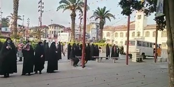 فیلم| حماسهآفرینی گیلانیان از نخستین دقایق آغاز انتخاب