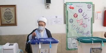 آیت الله سبحانی در انتخابات شرکت کرد
