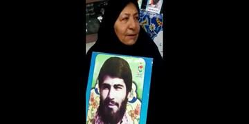 فیلم| اشک شوق مادرشهیدان فرجوانی از حضور مردم در انتخابات