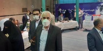 مهرعلیزاده با حضور در جماران رای خود را به صندوق انداخت