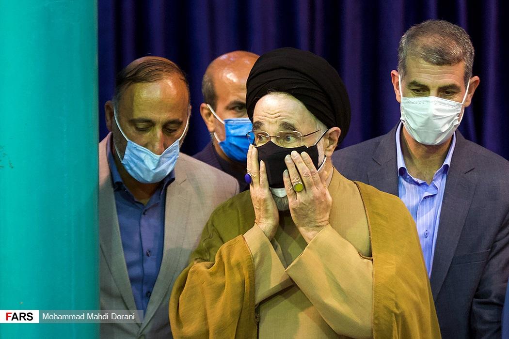 سید محمد خاتمی در حسینیه جماران