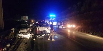 تصادف زنجیره ای در جاده چالوس/۷ نفر مصدوم شدند