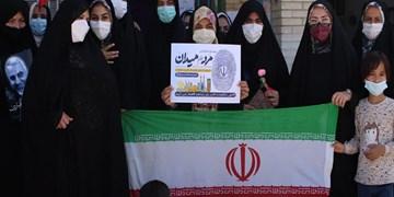 مردم ابرکوه بار دیگر برای اقتدار ایران اسلامی به میدان آمدند