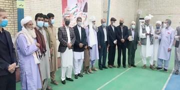 حضور سران طوایف سیستان و بلوچستان در شعب اخذ رای