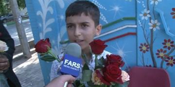 فیلم| بچههای جهادی به نیابت از حاج قاسم از رأی دهندگان تقدیر کردند