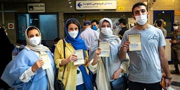 انتخابات 1400||| اخذ رای در ایستگاههای مترو
